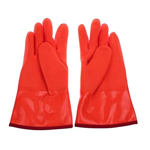 MJY Handschuh , Handschuhe , Fausthandschuh , Anti-Flüssigstickstoff-Handschuhe Eislagerung Gefrierschrank-Handschuhe Labor warm und kalt beständig