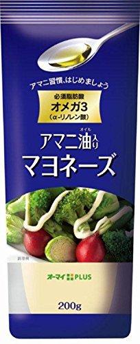3位 日本製粉『アマニ油入り マヨネーズ』