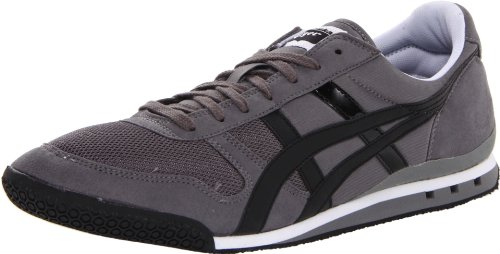 Onitsuka Tiger Men's Ultimate 81 Fashion Sneaker, Charcoal/Black, Men's 9, Women's 10.5