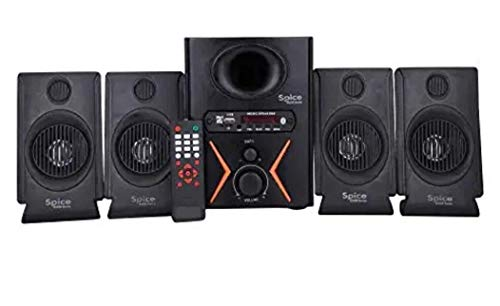 Spice Home Theater Model 4.1 Home Theater System with AUX,USB & FM...