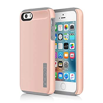 Incipio DualPro Case for Apple iPhone 5 5s SE Rose Gold IPH-1435-RGD-V