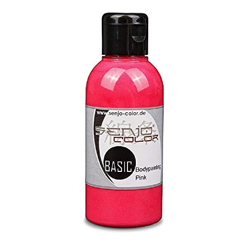 Senjo Color - Pintura para aerógrafo para body paint, 75 ml rosa