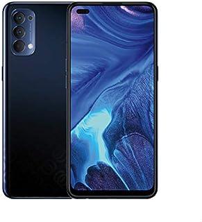 هاتف اوبو رينو 4 بشريحتي اتصال - 6.4 بوصة، 128 جيجا، رام 8 جيجا، شبكة الجيل الرابع ال تي اي - اسود