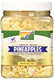 Mother Earth Products Freeze Dried Pineapples, 4 oz