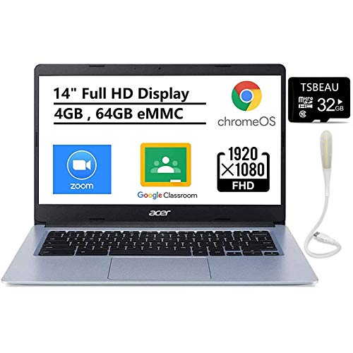 Acer Chromebook 314 Laptop, 14' FHD NonTouch Display, Intel...