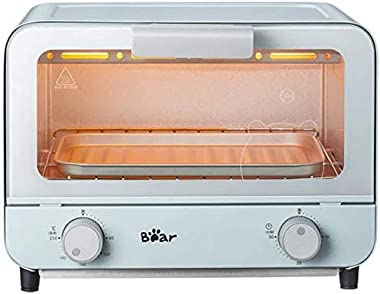 Rindasr Countertop microwave,9L Electric Microwave Oven Fully Automatic Household Baking Cake Bread Stretched Grill Drawer Ty