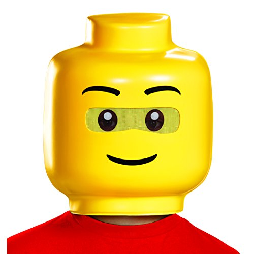 Disguise Lego Guy Child Costume Mask, One Size Child