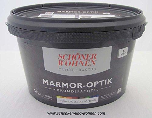Marmor-Optik Grundspachtel 5 kg Schöner Wohnen