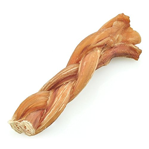 Best Bully Sticks 4-to-5-inch All-Natural Braided Bully Sticks (1lb. Bag) - Promotes Dental Health - Healthy Alternative to Rawhide