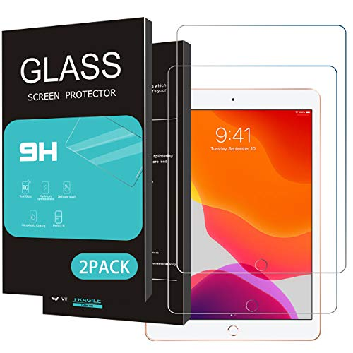 Best Deals! HOMEMO Screen Protector Compatible with iPad 10.2(2019 Released) Tempered Glass for iPad...