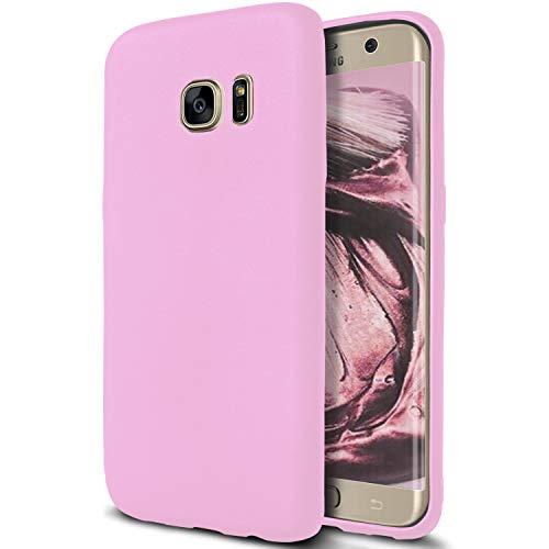 United Case Cover Resistente per Samsung Galaxy S6 Edge | Rosa | Protezione Antiurto