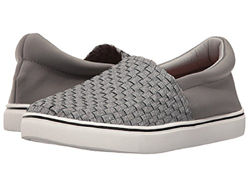 Bernie Mev Ofelia Womens Slip Ons (38 (7.5 US Womens), Heather Grey)