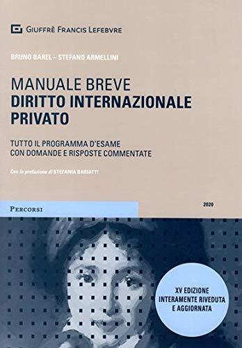 Diritto internazionale privato. Manuale breve