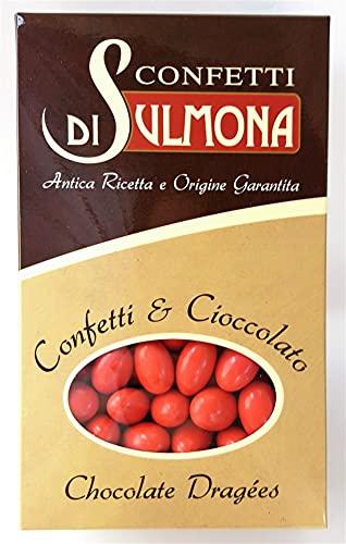 Confetti di Sulmona Ciocomandorla Rosso Doppio Cioccolato - 500 gr