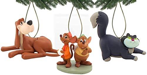 D Disney Cinderella Bruno, Lucifer, Jaq & Gus, 3-teiliges Figuren-Set