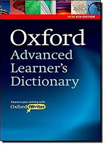Oxford Advanced Learner's Dictionary, 8th Edition: Paperback with CD-ROM (includes Oxford iWriter) (Diccionario Oxford Advanced Learners)