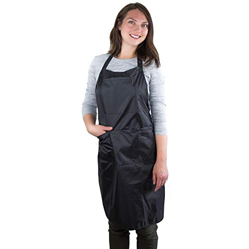 Hair Stylist Apron - Waterproof Apron - Protective PVC Coating - Cosmetology Supplies - Nail Tech Apron - Cosmetologist Apron - Dog Grooming Apron - Salon Apron