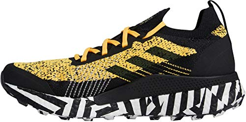 adidas Terrex Two Ultra Parley, Zapatillas de Running para Hombre, Dorsol/NEGBÁS/FTWBLA, 44 EU