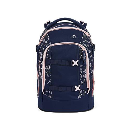 Satch pack Schulrucksack - ergonomisch, 30 Liter, Organisationstalent - Bloomy Breeze - Dunkelblau