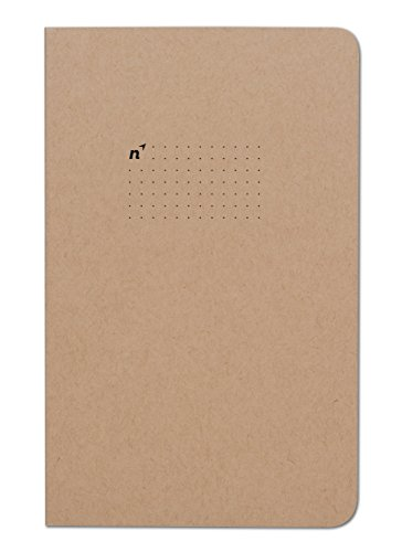 Northbooks Dotted Bullet Notebook Journal | 5x8 Dot Grid Journals | Soft Cover Eco-Friendly Premium Recycled Cream Color Paper 96-Pages | Made in USA