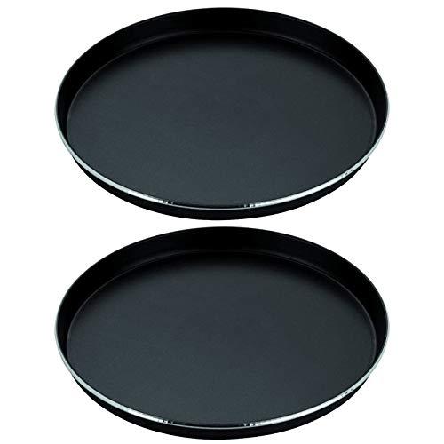 Spares2go - Plato de ferrita para horno microondas Zanussi de función crujiente (310 mm, 2 unidades)