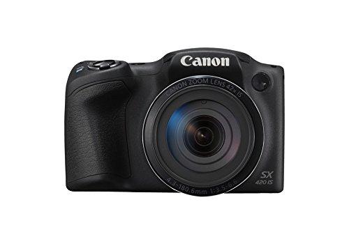 Canon PowerShot SX420 IS Fotocamera Bridge Digitale, 20 Megapixel, Nero Antracite