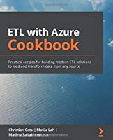 ETL with Azure Cookbook Front Cover
