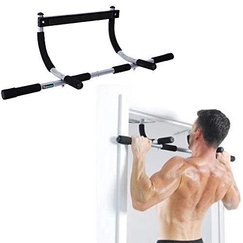Klimmzugstange, 100 kg, Unisex, für Erwachsene, für Pull-Ups, Liegestützen, Bauchmuskeln, Dips, und viele andere