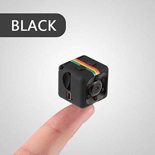 ArMordy(TM m in i Camera SQ8 SQ11 HD Camcorder HD Night Vision m in i Camera 1080P Aerial Sports m in i DV Camera[ Black 0G ]