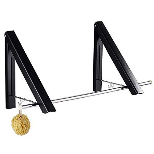 DGDG Plegable de Pared Percha Longitud 80cm de Aluminio Tendedero Ahorro de Espacio