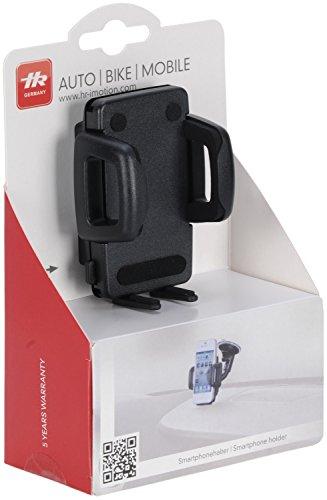 hr-imotion Universal Schwanenhals Kompakt Halterungslösung für alle Smartphones zwischen 59mm & 89mm Breite [5 Jahre Garantie   Made in Germany   vibrationsfrei] - 22010401 - 6