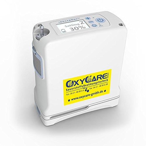 Inogen One G4 mit 4-Cell Akku, Mobiler Sauerstoffkonzentrator, nur 1,27 Kg
