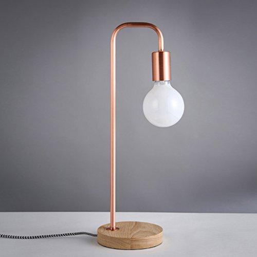 CJH tafellamp Art in Nordic stijl, goudkleurige stijl, tafellamp, tafellamp