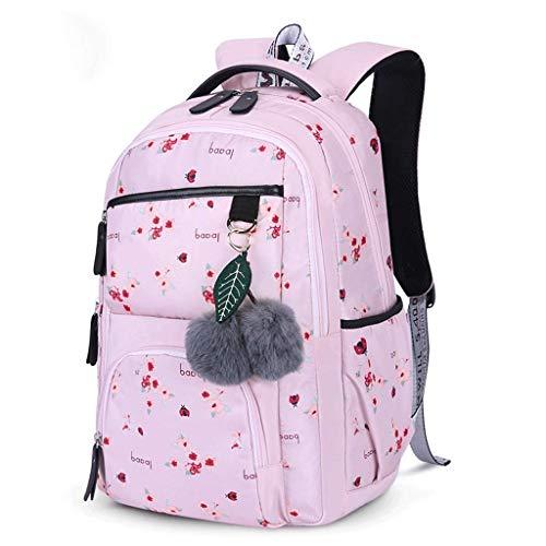 Female backpack student school bag middle school student high school student college student backpack waterproof laptop bag