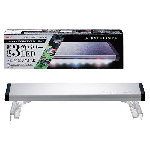 ジェックス クリアLED パワーIII 300 30cm 水槽用3色LED 観賞魚飼育・水草育成用 ライトリフト付
