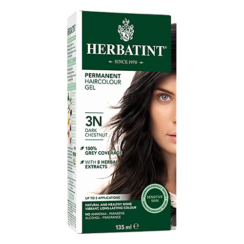 Product Image of the Herbatint Permanent Herbal Haircolour Gel 3N Dark Chestnut - 135 mL
