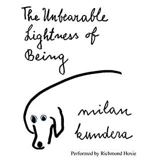 The Unbearable Lightness of Being audiobook cover art