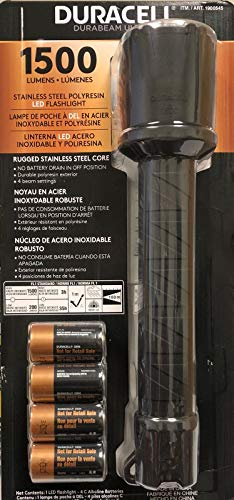 Duracell Durabeam ULTRA 1500 Lumens Flashlight with 4 Settings