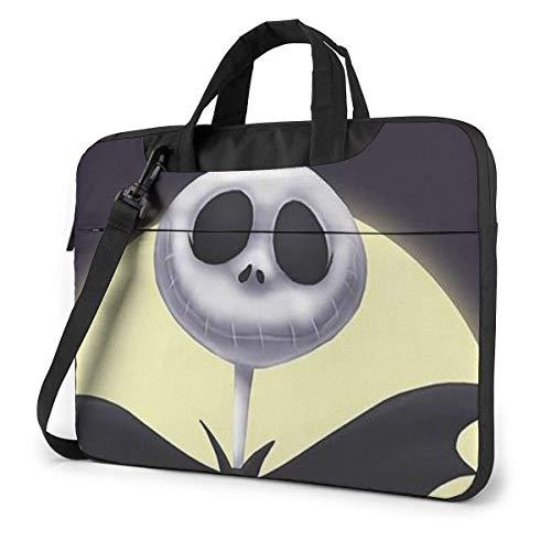 15.6 Inch Laptop Bag Nightmare Before Christmas Halloween Laptop Briefcase Shoulder Messenger Bag Case Sleeve