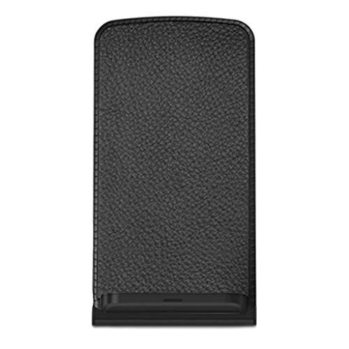 JHD Cargador inalámbrico QI de 10W para iPhone XS XR X 8 Samsung S9 S8 S7 Xiaomi Mix 2s Base de Carga inalámbrica rápida Estación de Acoplamiento