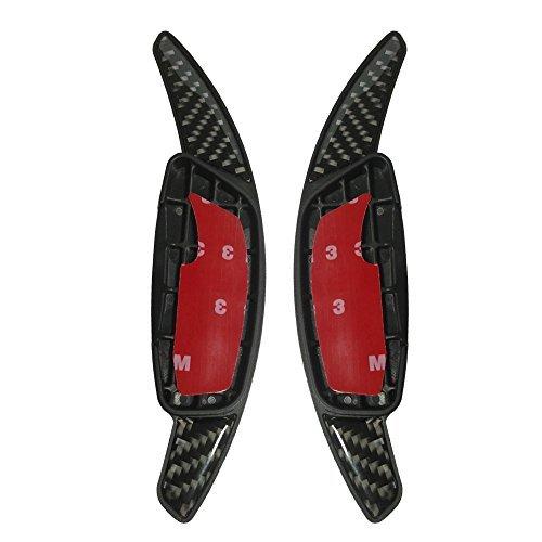 heinmo nueva fibra de carbono paddle Interruptor cambio extensión volante cambio palas directa Shift Gear para s60l V60S80XC702014–2017XC60(2015–2017)