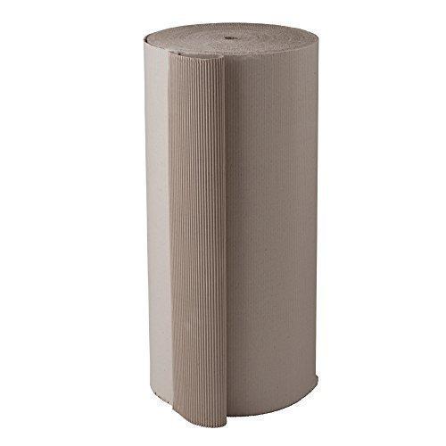 BB-Verpackungen Wellpappe Rollenwellpappe | 1,2 x 70 m (84m²) |Wellkarton Rolle als Füllmaterial | Rollwellpappe 100% Papier recycelbar | ideal für Versand, Umzug & Abdeckung