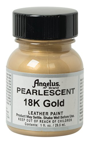 Angelus Perlglanz-Lederfarbe, 18 Karat Gold
