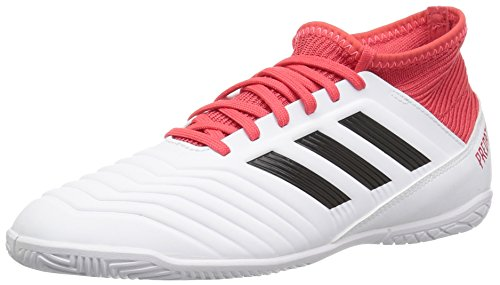 adidas Unisex ACE Tango 18.3 in J, White/core Black/Real Coral, 13.5 M US Big Kid