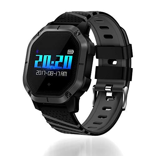 Ganeep Monitor de Frecuencia Cardíaca Reloj Inteligente Deportes Presión Arterial Podómetro Correr...