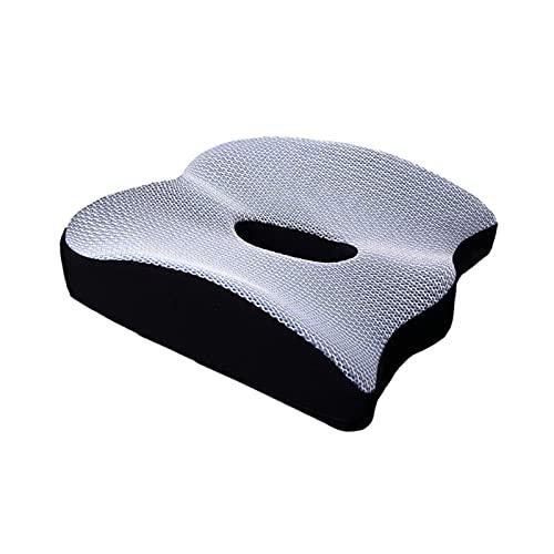 WANGYOU Schiuma di Memoria Regolabile di Alta qualità Schiuma Antiscivolo Cuscino per seggiolino Auto Cuscini per seggiolino per Adulti Adult Car Seat Booster Cuscini Accessori Auto Lasting