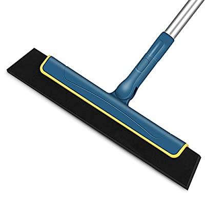 CLEANHOME Floor Squeegee to Remove Water for Ba...