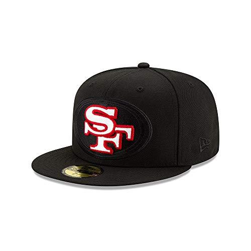 New Era San Francisco 49ers 59fifty Basecap NFL Elements Black Black - 7 3/8-59cm