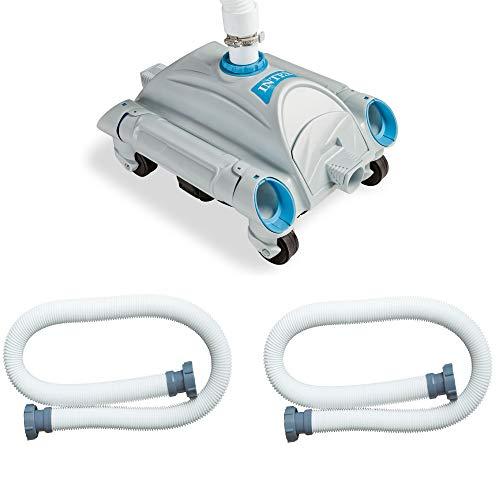 Intex Pool Cleaner w/ 24 ft. Hose & Intex 1.5 In Dia. Water Hose 59 Inch(2 Pack)