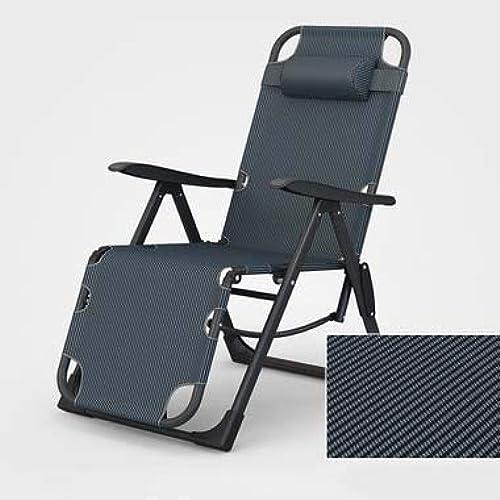 FTFTFTF Lit Pliant, Chaise Mat Pliante Pause déjeuner Unique Vieux Chaise de Loisirs Portable Ultra léger